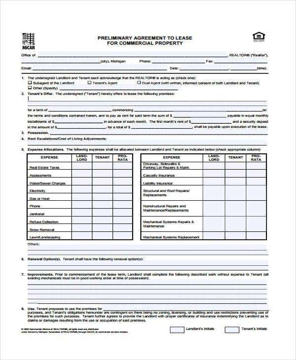 17 Commercial Agreement Templates Word Pdf Free Premium
