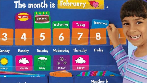 8+ Preschool Calendar Templates - Sample, Examples | Free ...