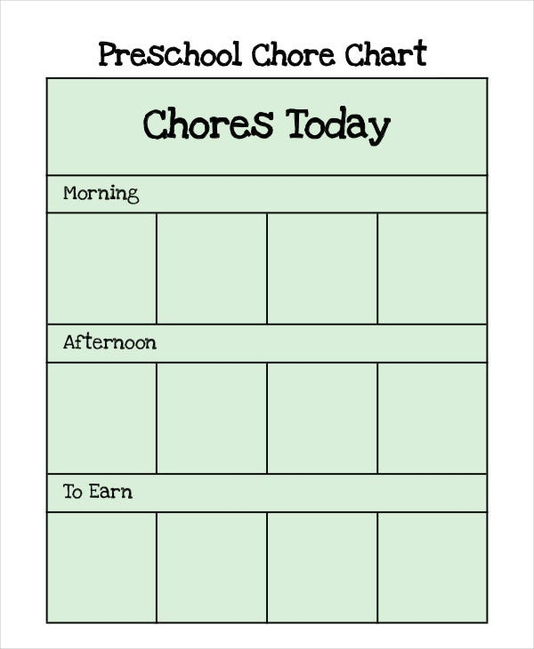 preschool chart1