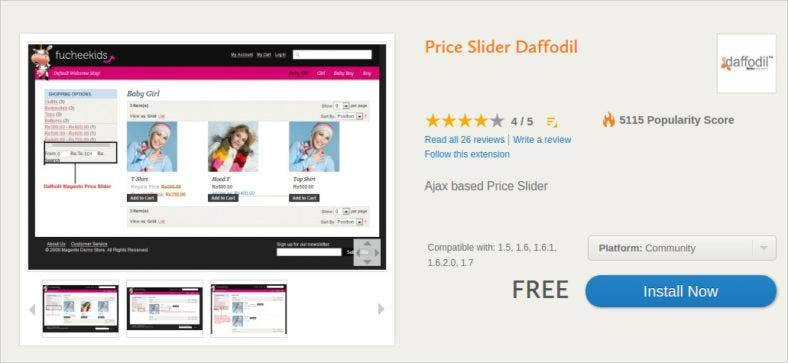 price slider daffodil template 788x363