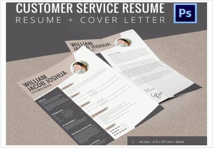 Printable Customer Service Resume Template