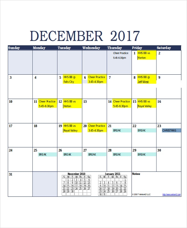 printable monthly1