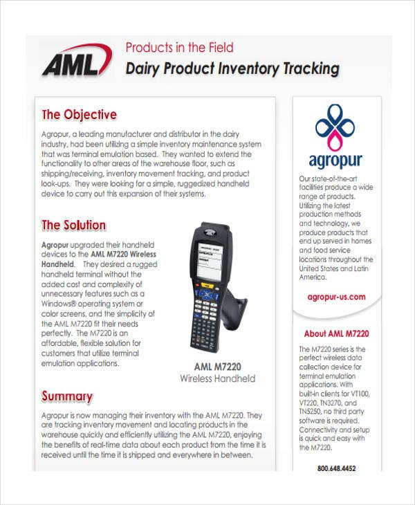 product inventory tracking