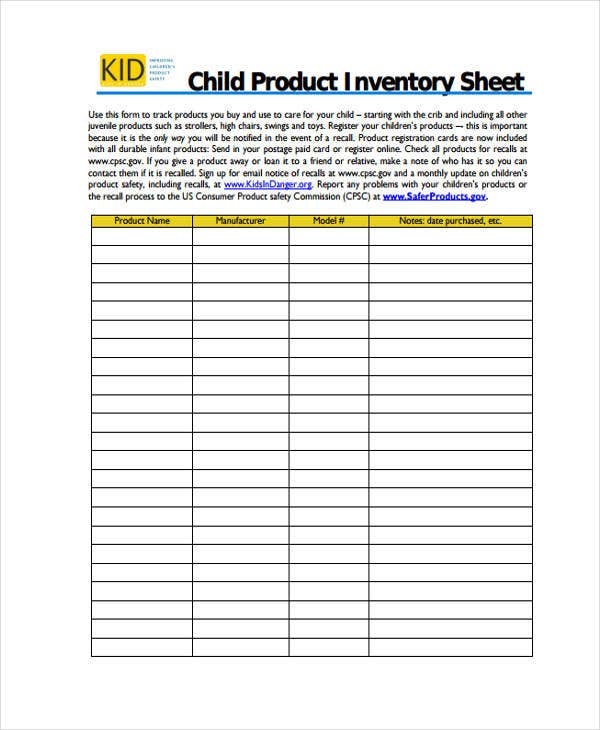 product inventory2