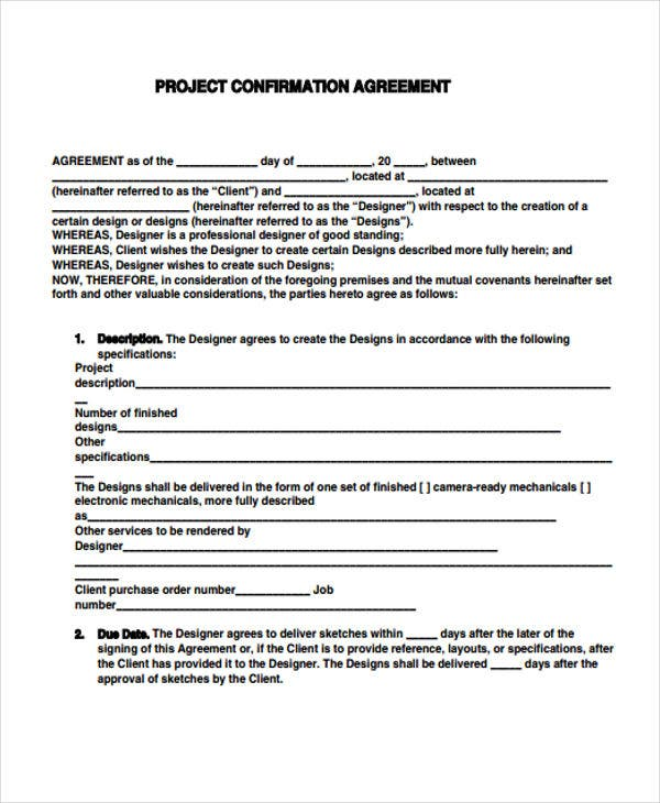 project agreement2