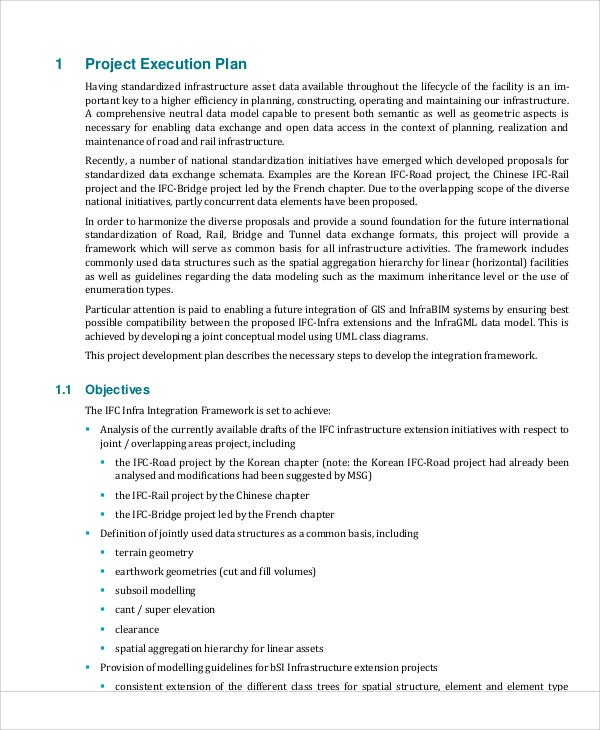 maintenance project plan templates