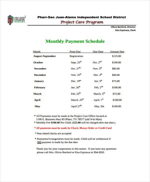 project payment