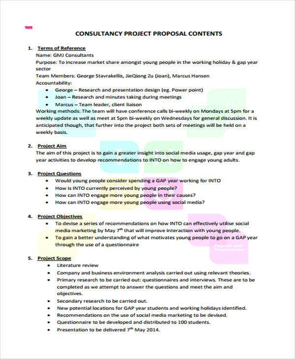 project proposal7