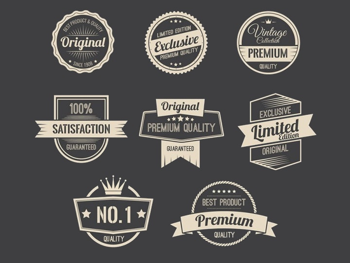 promotion-badges-vintage-vector