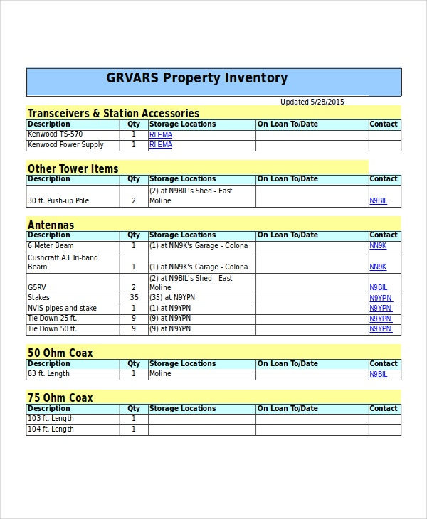 property inventory1