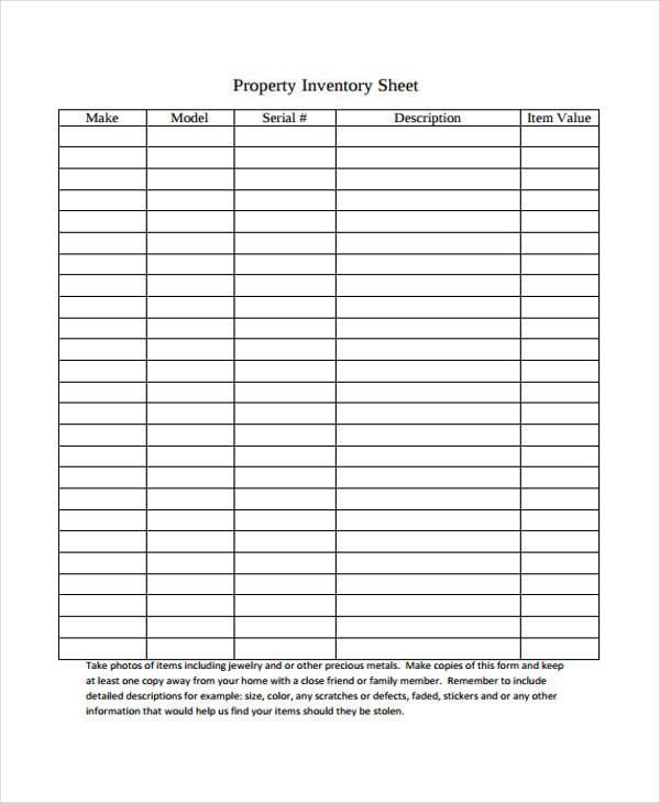 property inventory3
