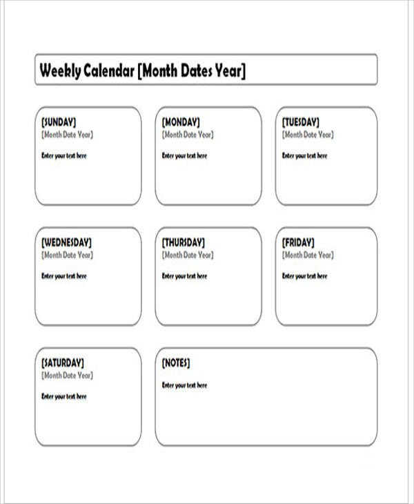 Editorial Calendar Templates  Free Sample Example Format