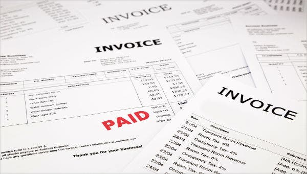 purchase invoice templates