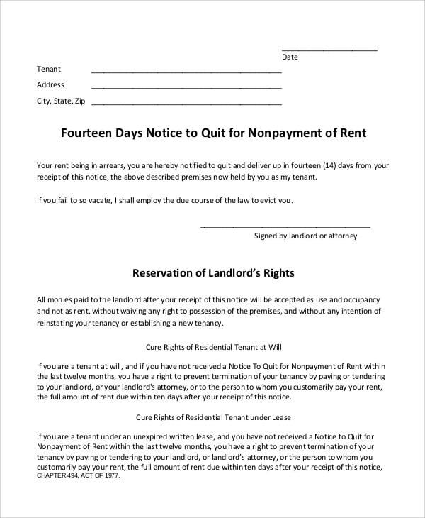 rent quit