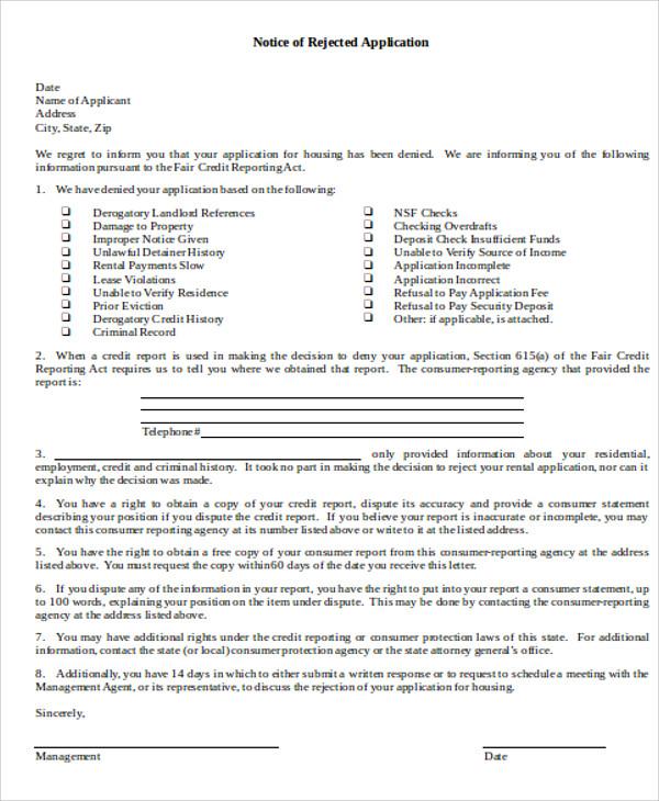 rental applicant