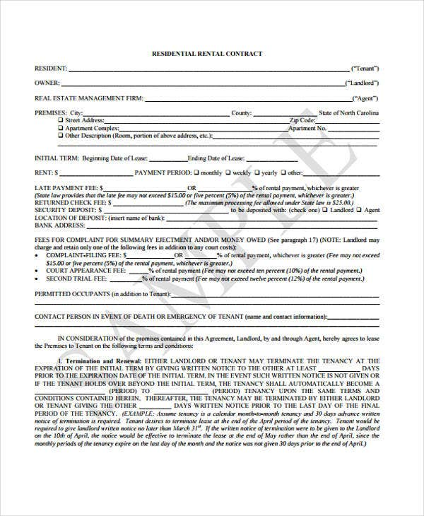 rental contract2