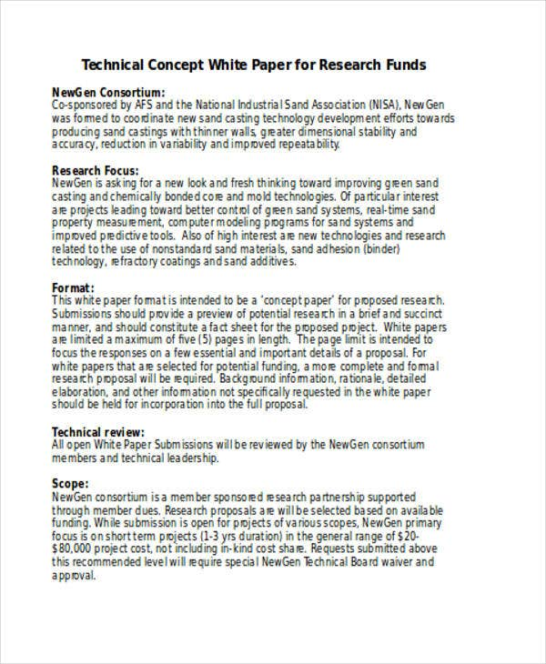 Research Project Template Free Action Research Paper Outline