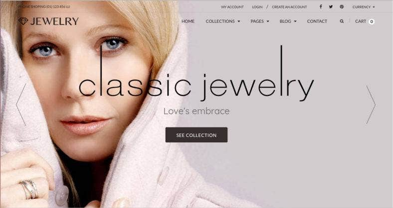 13 jewelry shopify templates free premium templates responsive shopify theme pronofoot35fo Image collections