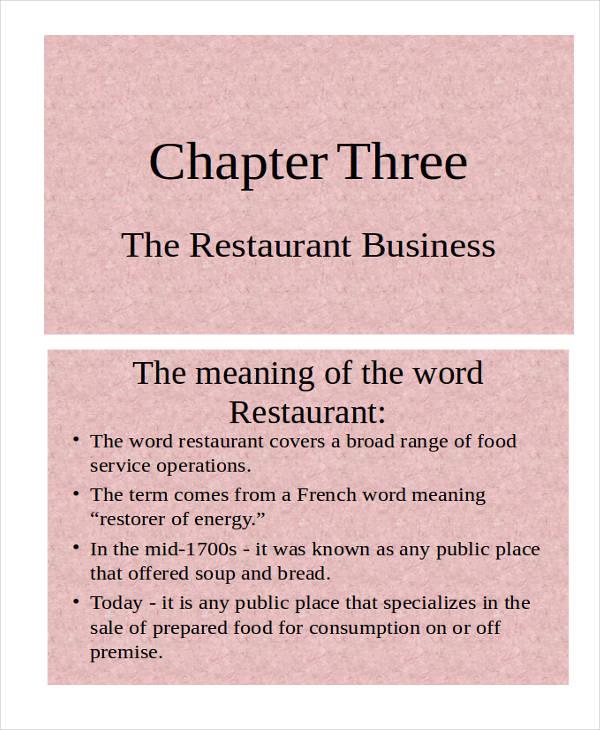 restaurant business1