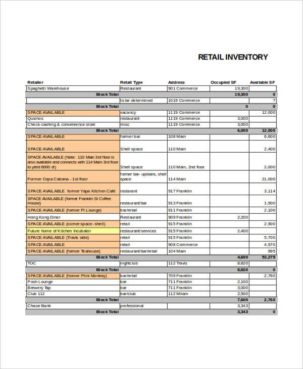 retail stock