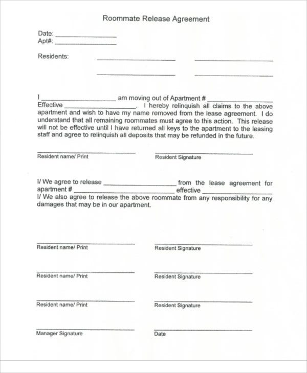9+ Release Agreement Templates - Free Sample, Example Format