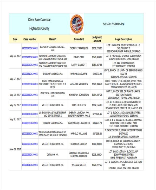 sales clerk template