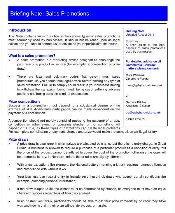 how to write a briefing paper template uk