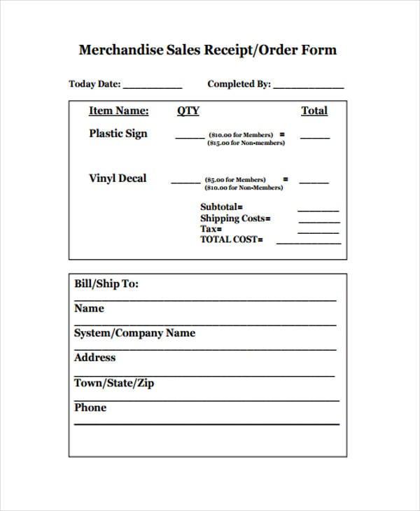 sales receipt3