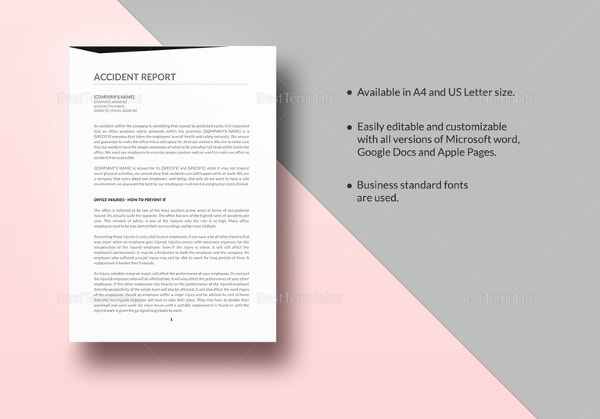 sample-accident-report-template