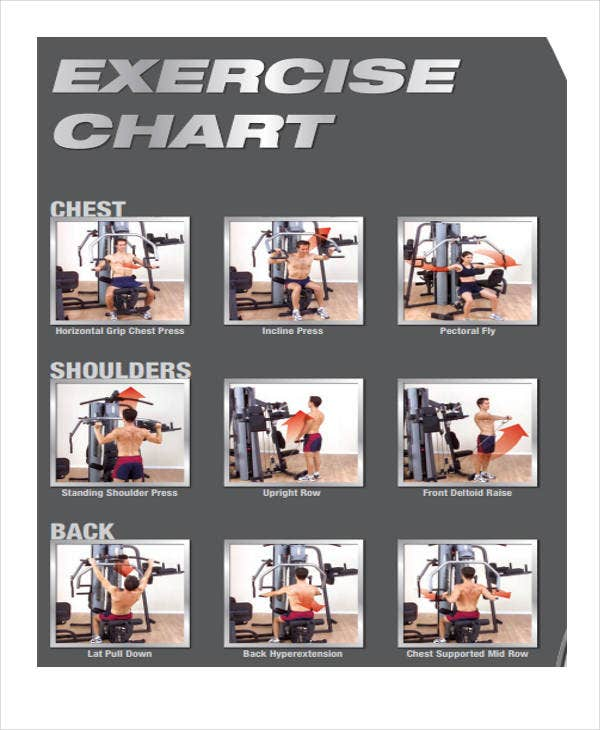 sample chest exercise