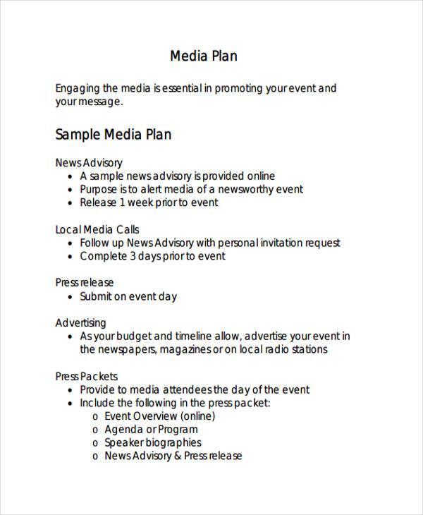 sample media