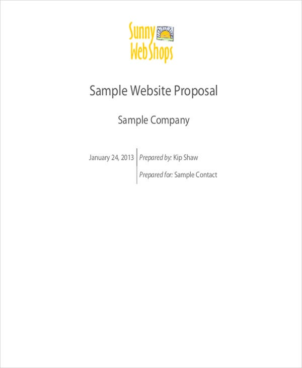 sample proposal
