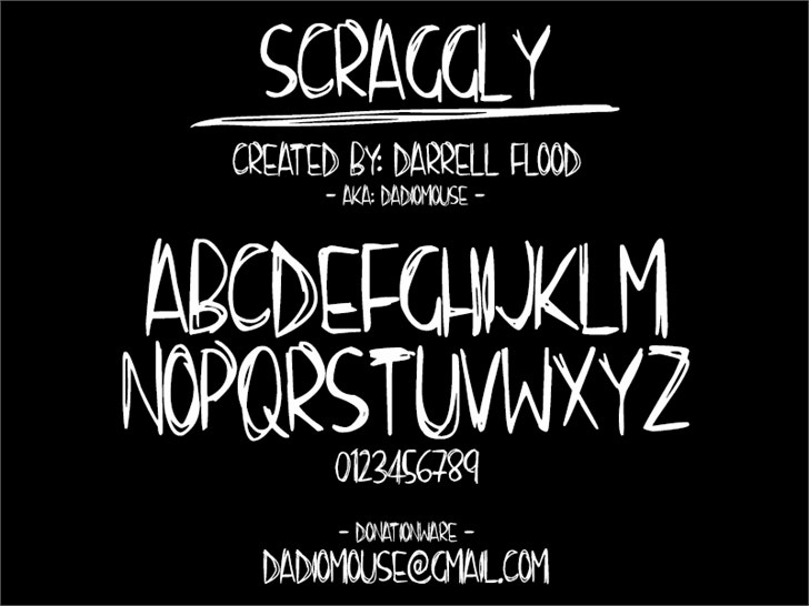 scraggly-font