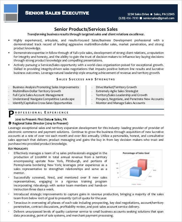 20 Executive Resume Templates Pdf Doc Free Amp Premium