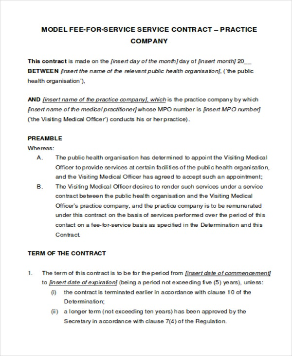 service contract1