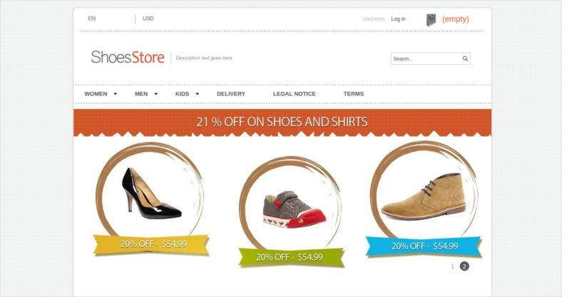 shoes prestashop theme 788x416