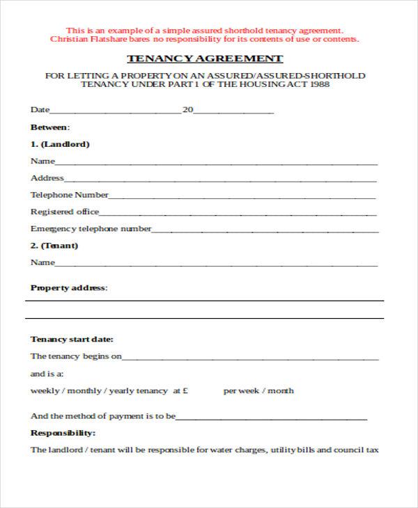 short hold tenancy1