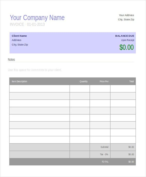 simple invoice4