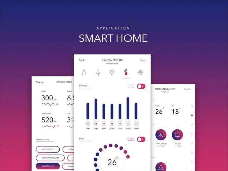 Smart Home Ui Design App