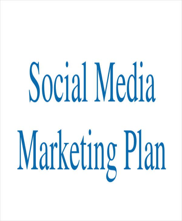 social media marketing plan1