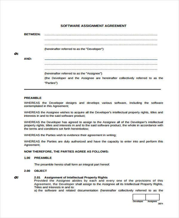 34 Printable Agreement Templates Free Premium Templates