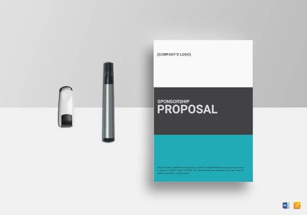 Team Sponsorship Proposal Templates 10 Free Word Pdf Format
