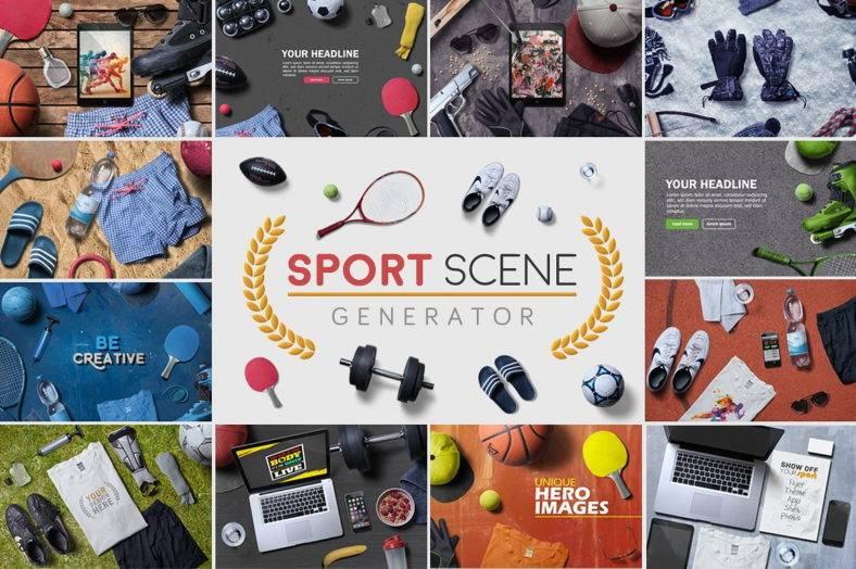 sport-scene-generator