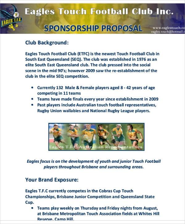 sports team sponsorship