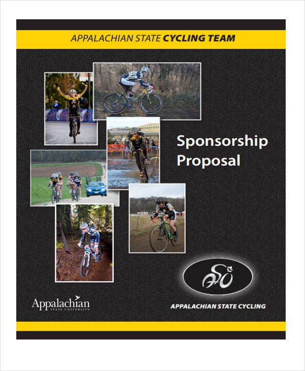 Sports Sponsorship Proposal Template 12 Free Word Pdf Format
