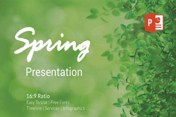 Spring PowerPoint Templates