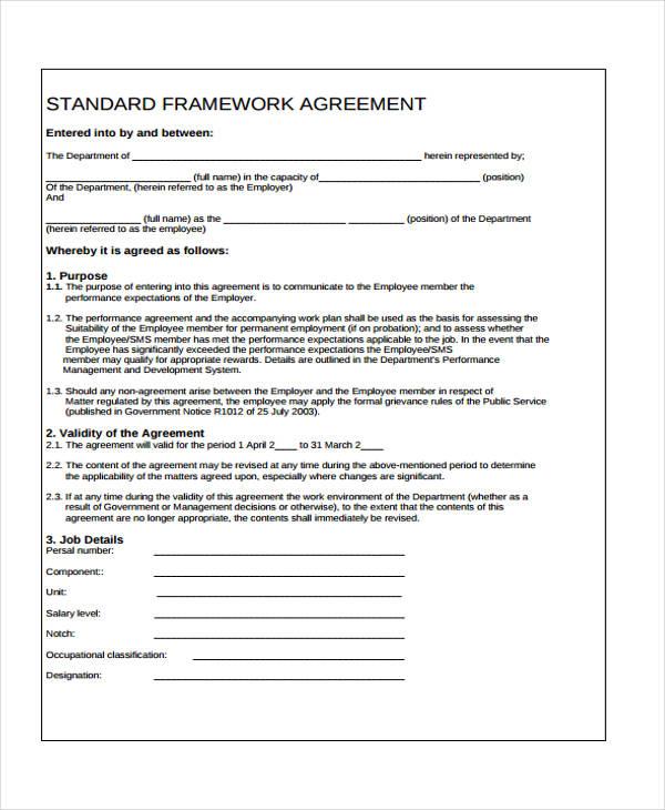 standard framework