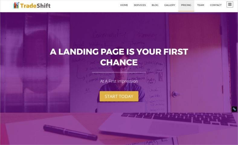 startup-landing-page
