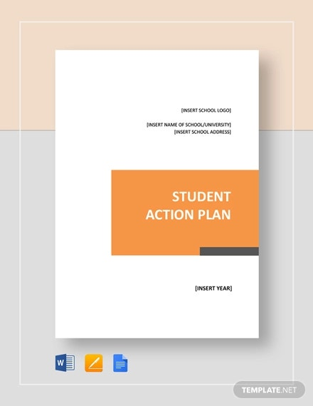 student action plan template1