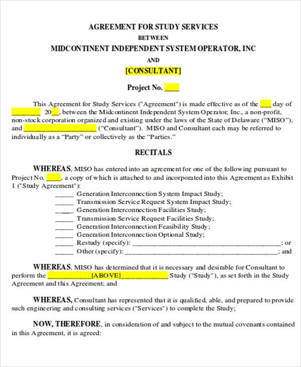 5+ Independent Contract Templates - Sample, Examples | Free ...